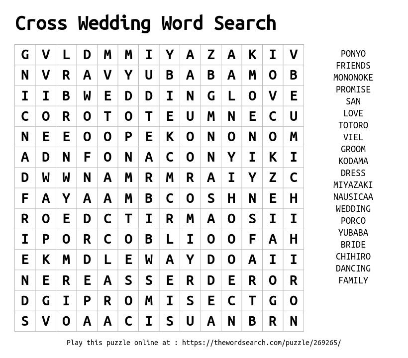 Word Search Maker | Make Your Own Word Search