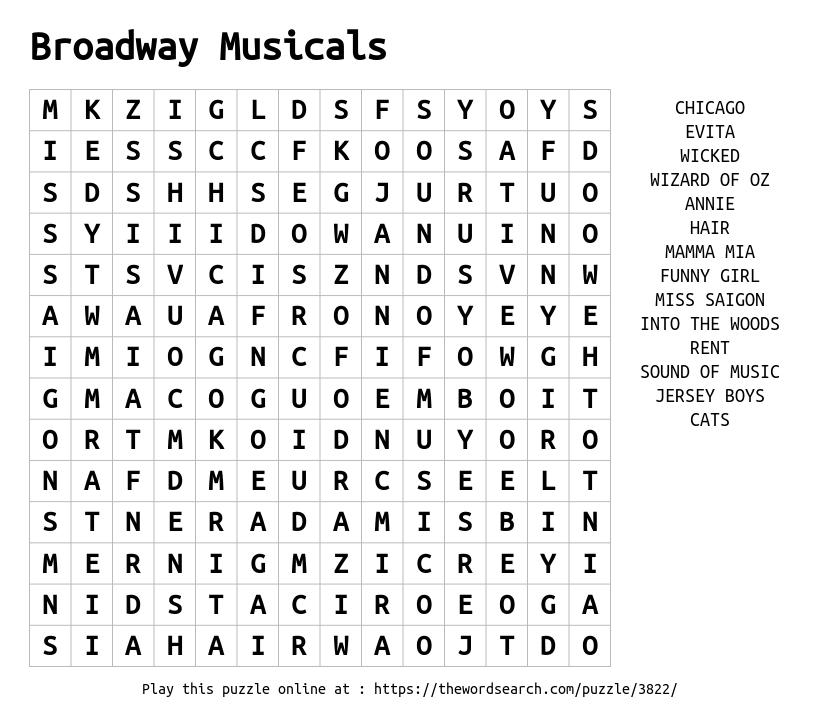 Image Result For Musicals