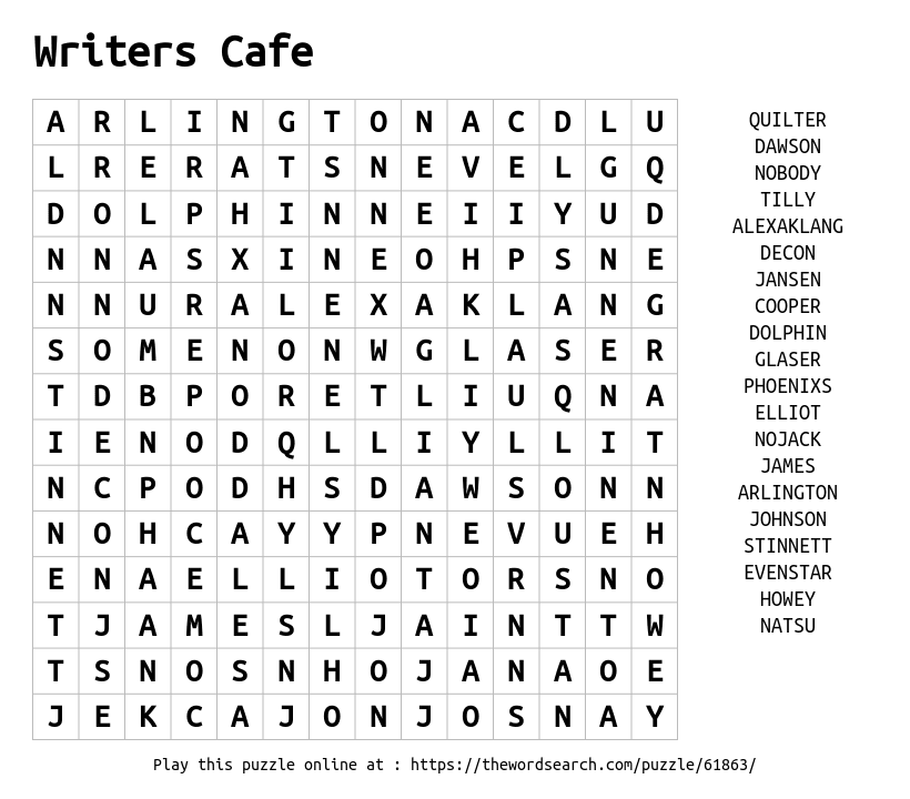 Search cafe